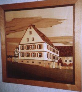 Bauernhaus im Ochsenfurter Gau